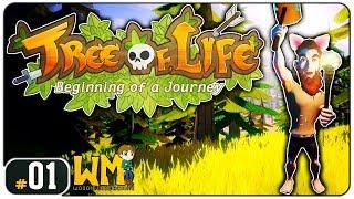 Você faz a série: tree of life #01 - craft, housing e skills! - gameplay pt br - primeiros minutos