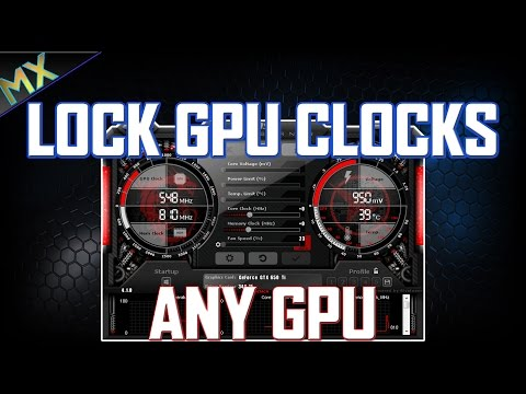 How to Lock Clock Speeds on Pascal GPU