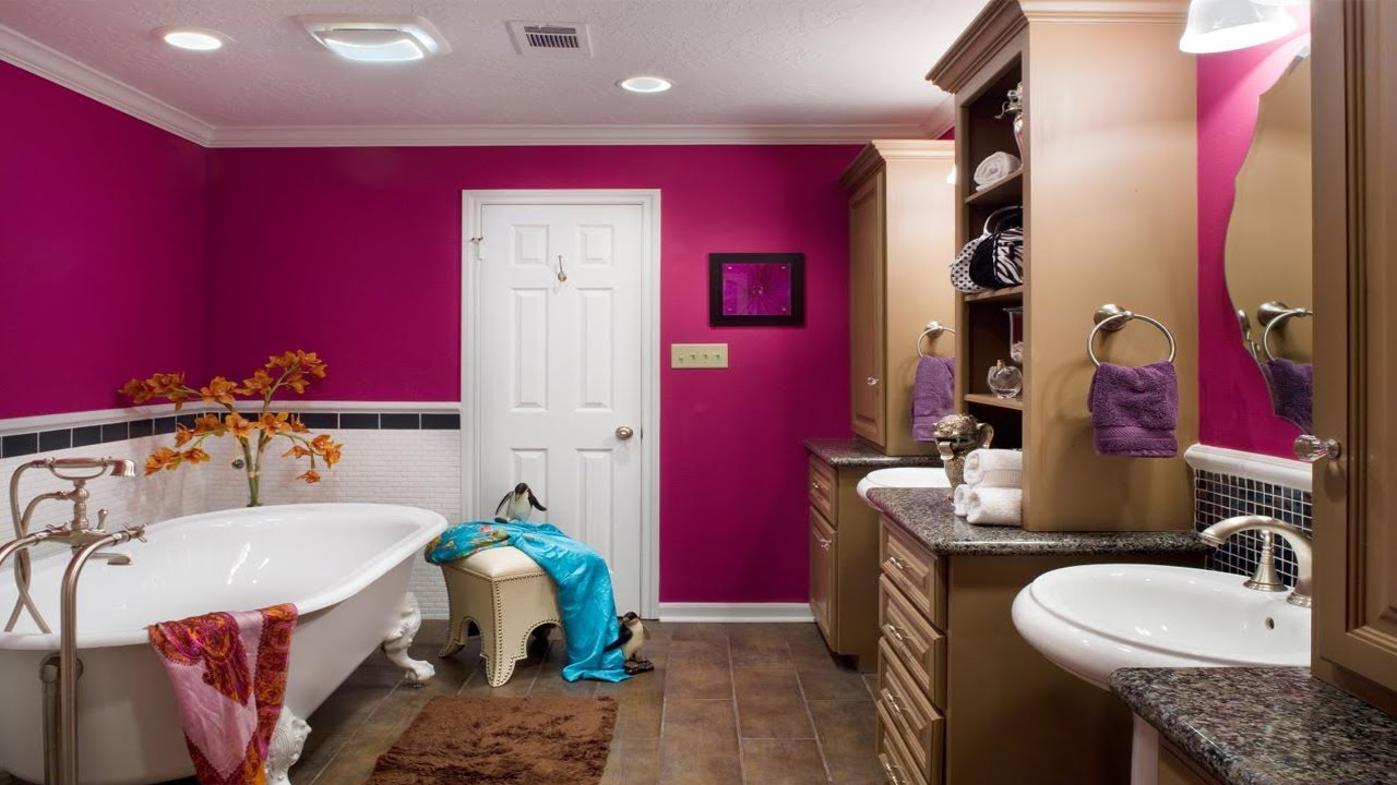 Bathroom Paint Colors For Small Bathrooms Bathroom Painting Ideas Youtube