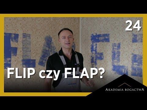 24. FLIP czy FLAP? Zapraszam do dyskusji...