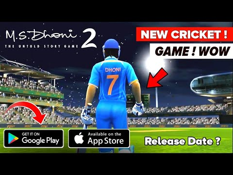 Ms Dhoni 2 New Cricket Game Release Date Confirmed Coming