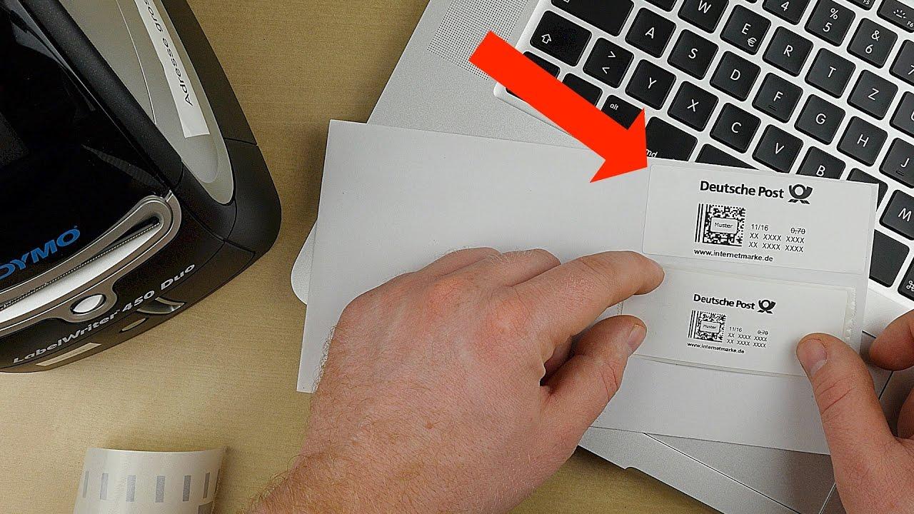 Dymo 450 Internetmarke Drucken Briefe Online Frankieren