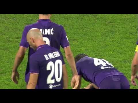 Il gol di Badelj - Fiorentina - Roma - 1-0 - Giornata 4 - Serie A TIM 2016/17