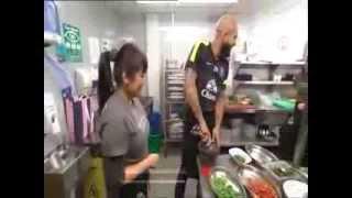 Everton FC v Rosa's London Ltd. - Tim Howard cooking class