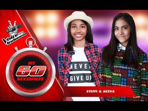 Steffi dan Keshya   The Blind Auditions   The Voice Kids Indonesia GlobalTV 2016