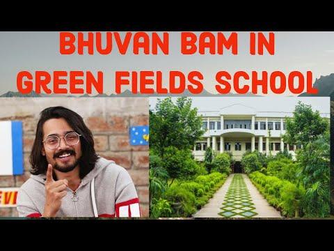 Bhuvan Bam in Green Fields School, Safdarjung Enclave