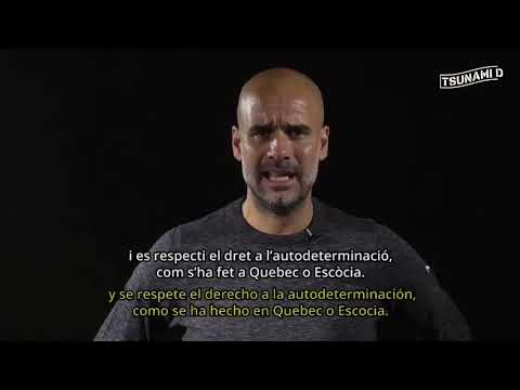 VIDEO: Pep Guardiola ante la sentencia del Procés en Cataluña