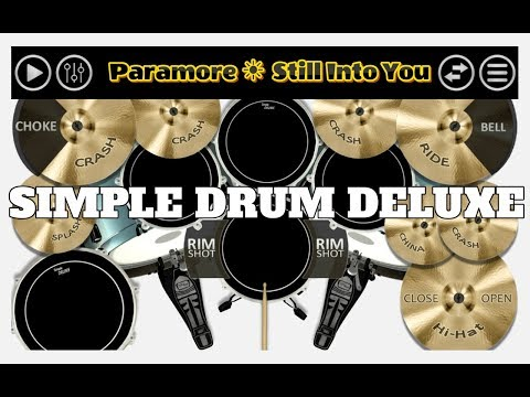 Paramore - Still Into You ( Simple Drum...