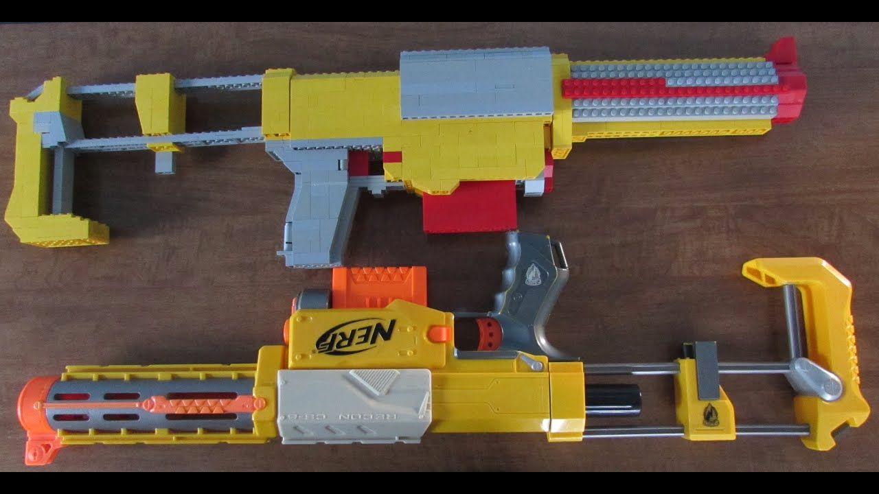 How To Build A Lego Sniper
