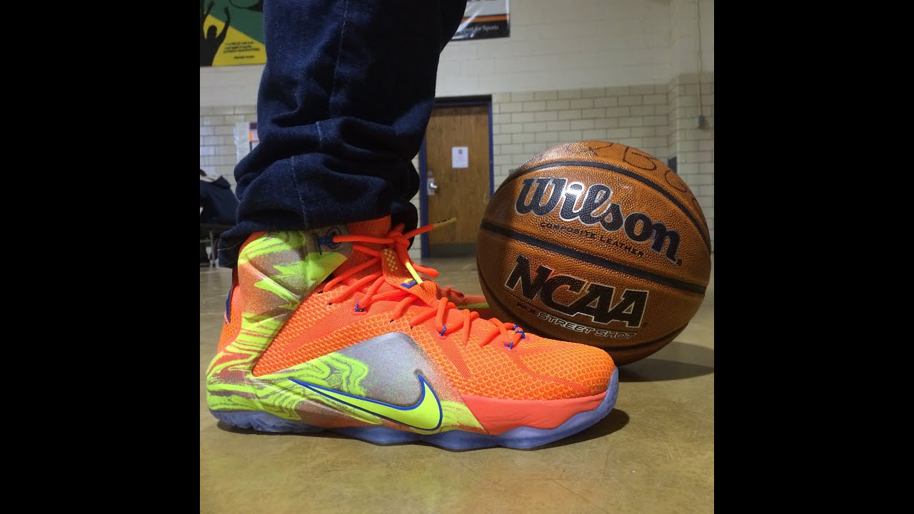 new style c6f22 22f50 ... 50% off lebron 12 six meridians review 5937b 6afe8