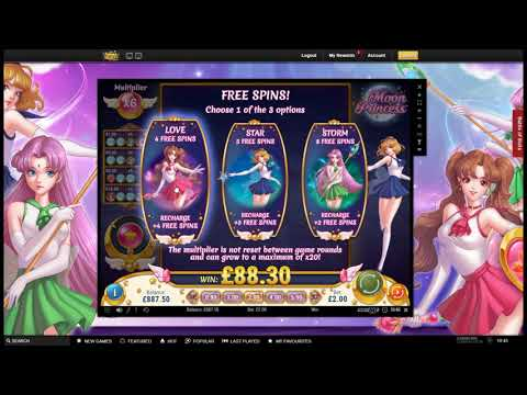 Sunday Slots with The Bandit - VideoSlots Draw, Moon Princess and More