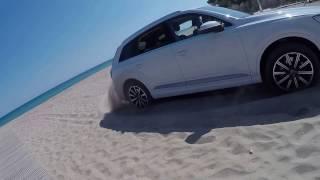 Испания. Песок. Q7 new 2015. Offroad. Sand.