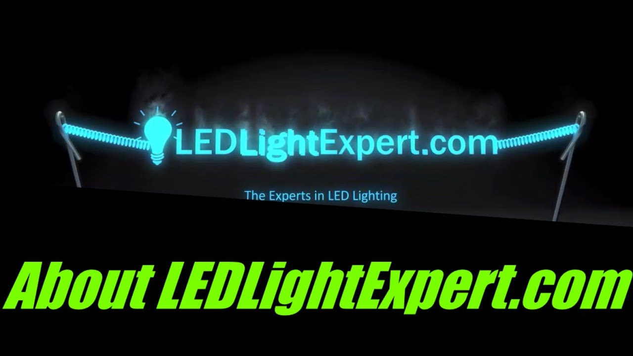 About Us!   LEDLightExpert.com - Who We Are and Why You Can Buy From Us With Confidence