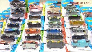 Машинки Cars Hot Wheels 50 CARS много машинок cars toys video for kids