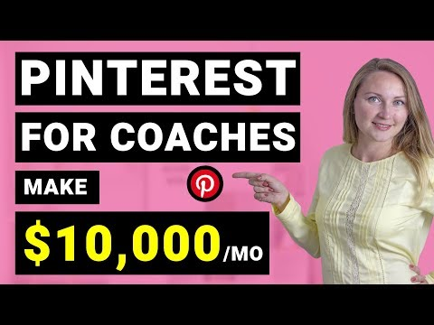Pinterest Marketing for Coaches, Online Courses and Other Service-Based Businesses