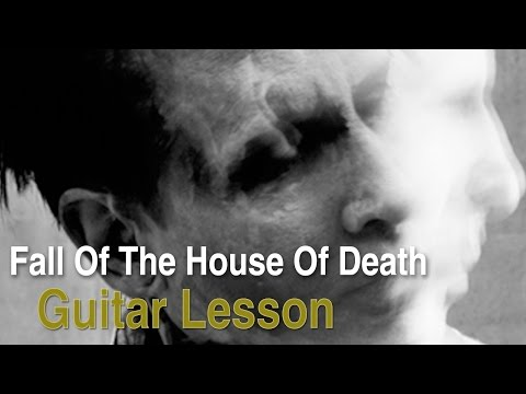 Fall Of The House of Death by Marilyn Manson (Guitar Lesson)