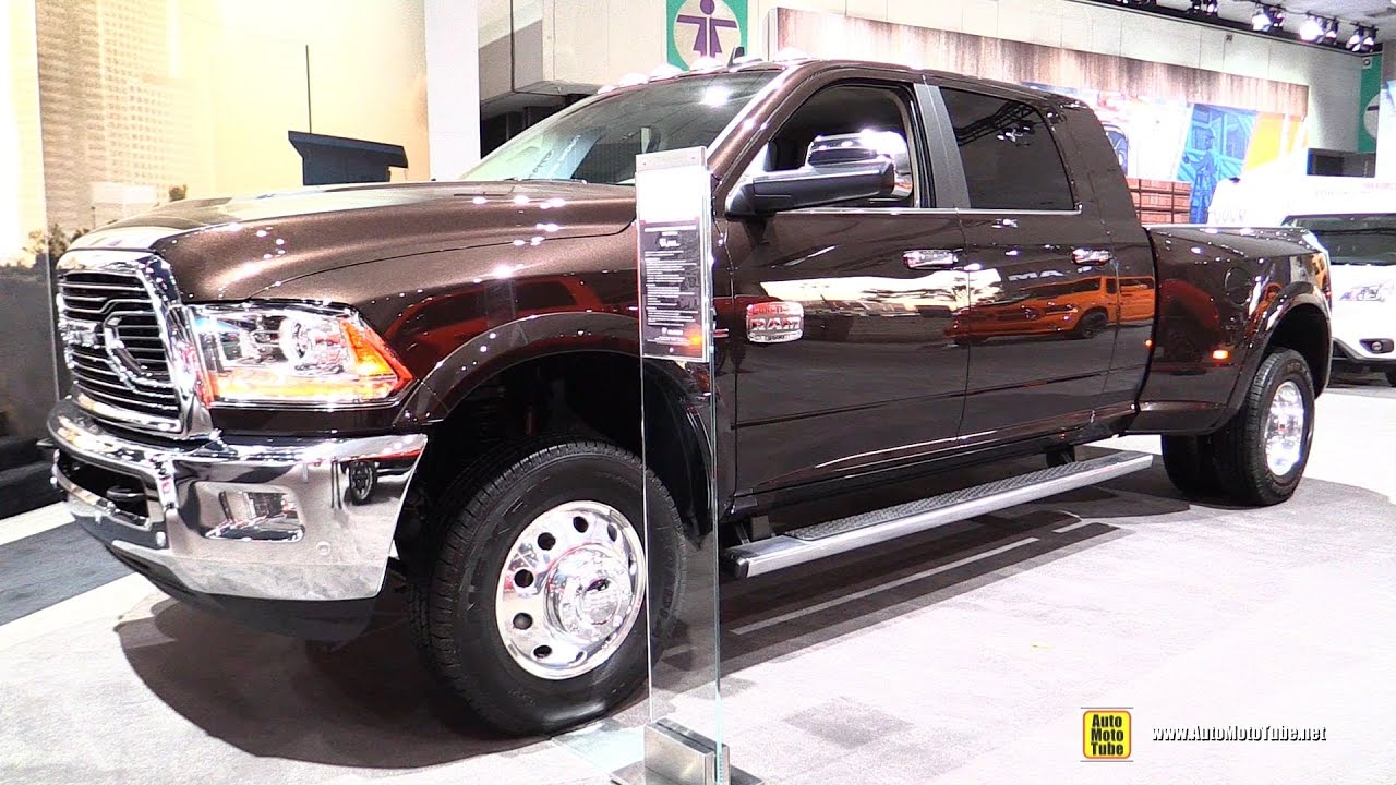 2017 Dodge 3500 >> 2017 Ram 3500 Longhorn Exterior And Interior Walkaround 2016 La Auto Show