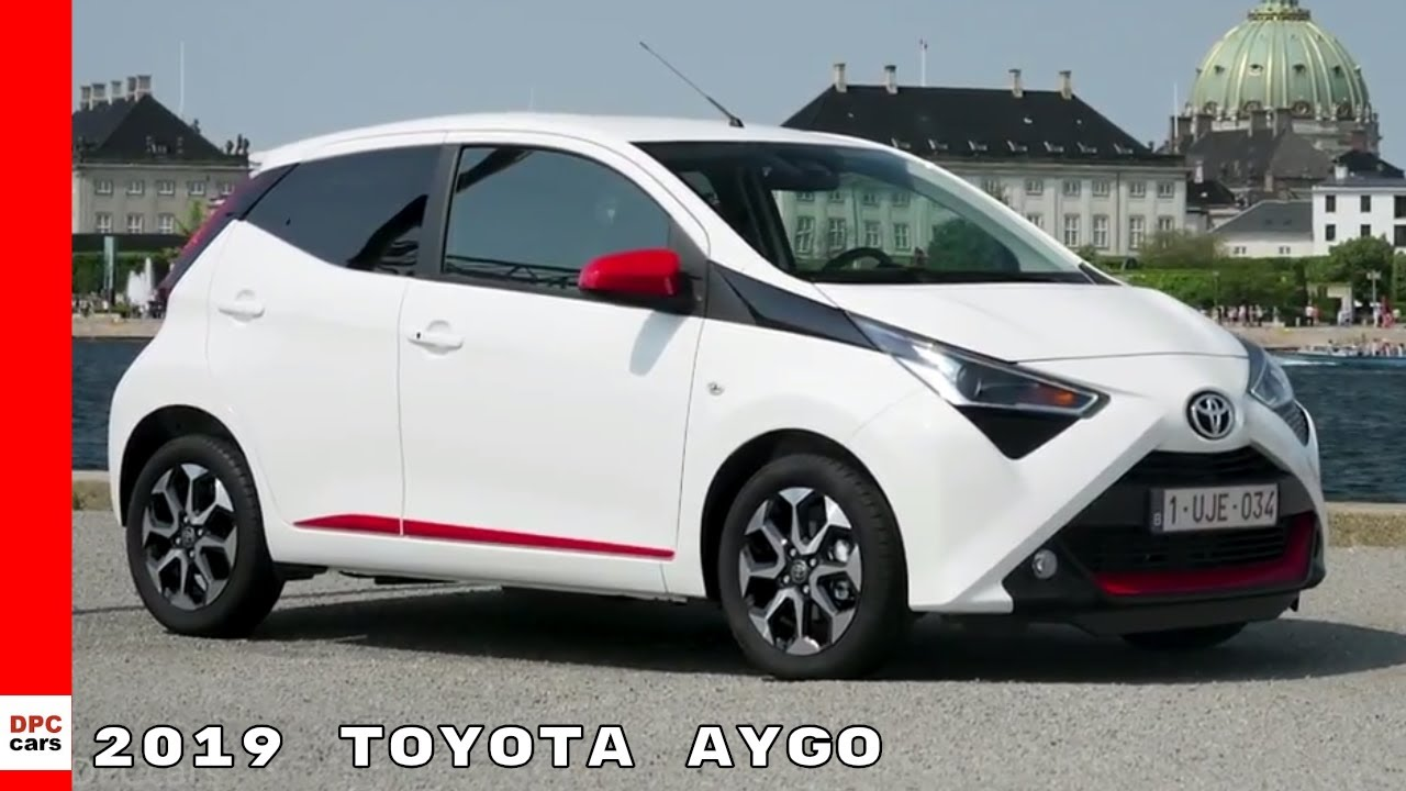 2019 Toyota Aygo White Exterior Interior Drive