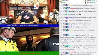 Tommy Sotomayor & His Co Host Brian Go At Eachother Disagreeing On Starbucks Arrest! #Fireworks thumbnail