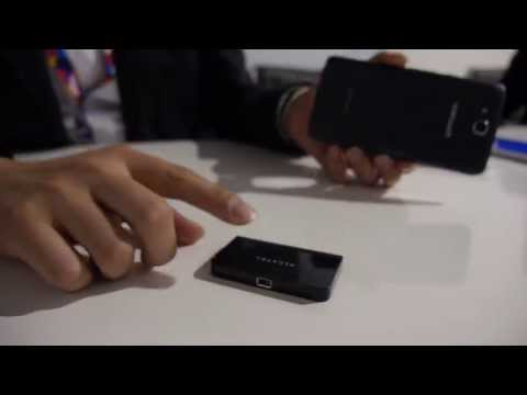 Alcatel One Touch Hero Pico Projector and TV Link