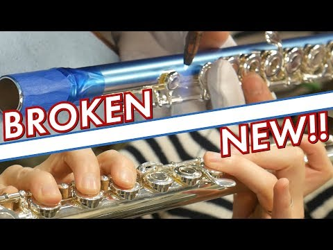 An Inside Look at Flute Repair