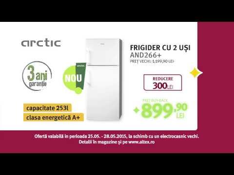 Reclamă ALTEX combină frigorifică ARCTIC septembrie 2015
