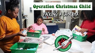 Operation Christmas Child: The Girls Are Packing a Shoebox! Family Vlogs | JaVlogs