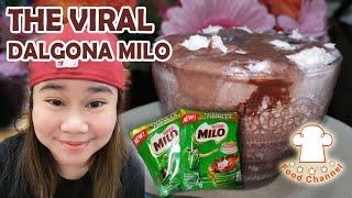 Dalgona Milo Without Whisk | Viral | Trending | Nakakagulat sa Sarap | FoodChannelPH