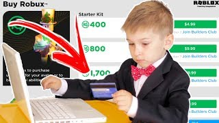GAROTO SPENT 16000 REAIS IN ROBLOX AND MINECRAFT WITH MOTHER'S CREDIT CARD