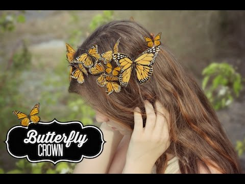 DIY Butterfly Crown | ShowMeCute