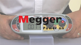 How to use Megger MFT1700 Series