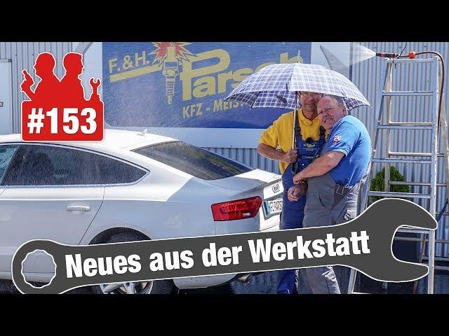2000 Euro! Radlager in E-Klasse komplett hinüber   Holger im Kofferraum: Wo ist der Audi A5 undicht?