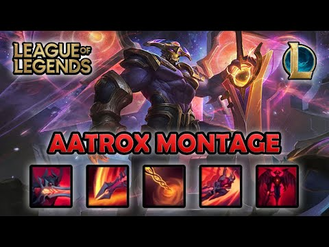 AATROX MONTAGE - Clean Combo | Odyssey Aatrox Skin | League of Legends