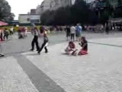 Touristen in Prag verarscht