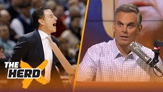 Rick Pitino 'effectively fired' at Louisville - Colin Cowherd reacts | THE HERD