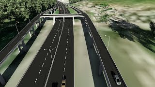 MANDELA HIGHWAY IMPROVEMENT PROJECT 3D CONCEPT