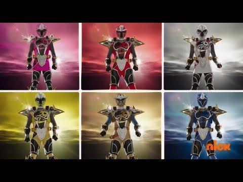Power Rangers Super Ninja Steel - All Ranger Morphs and Roll Calls | Episodes 1-22 | Superheroes