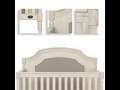 Evolur Julienne Collection (Crib, Dresser, Chest, Hutch, Bookshelf and Nightstand)