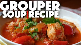 Fish Soup Recipe - tasty and healthy dinner recipes - easy food to make at home on a budget - paleo