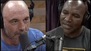 Evander Holyfield is Fighting an Exhibition at 50 Years Old!! | Joe Rogan