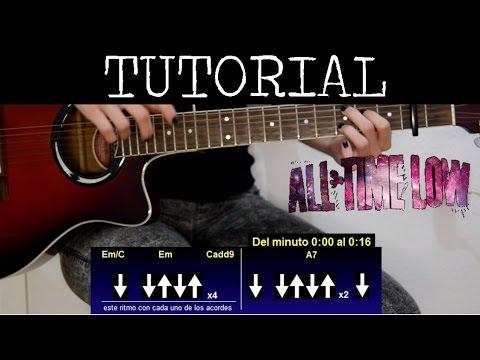 Cmo Tocar Remembering Sunday De All Time Low Tutorial De Guitarra
