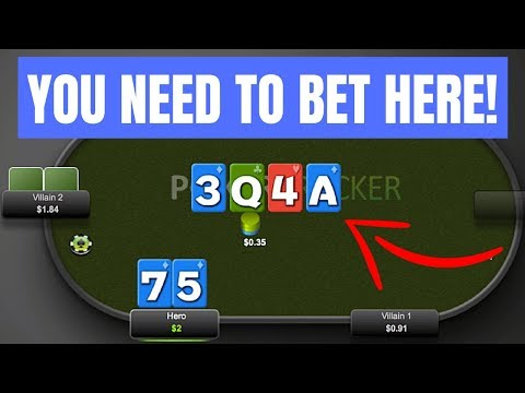 When To Double Barrel In Poker - Always Bet THIS Card