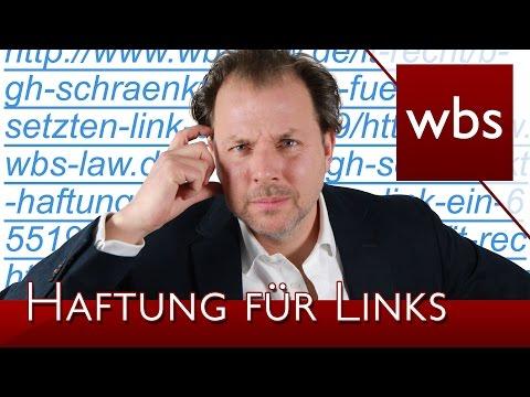 Wer haftet für gesetzte Links? (Aktuelle BGH-Entscheidung) | Rechtsanwalt Christian Solmecke