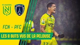 VIDEO: FC Nantes - Paris FC : les 8 buts vus de la pelouse