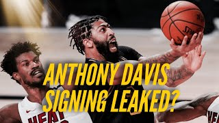 Rumor: Did Anthony Davis' Contract Signing Get Leaked? Plus, Jared Dudley Back With Lakers?
