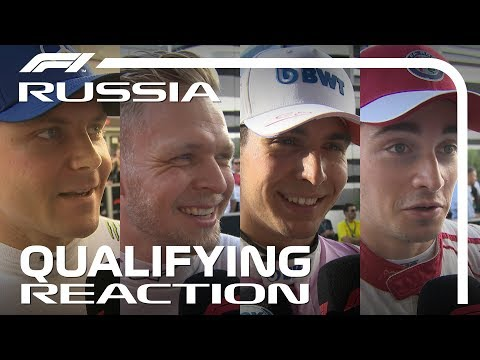 2018 Russian Grand Prix: Qualifying Reaction