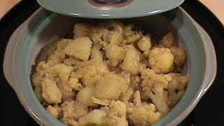 Curry Cauliflower With Potato -- Quick & Easy Vegetarian Cuisine By Chinese Home Cooking Weeknight