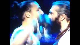 Zlatan Ibrahimovic vs Sebastian Chabal (Video)