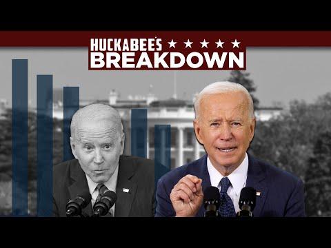 TERRIFYING Poll Numbers for Biden   Breakdown   Huckabee