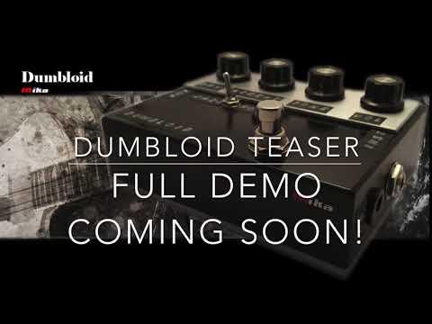 Dumbloid Overdrive Pedal Teaser